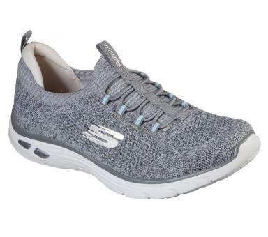 Skechers Sneaker  Empire d´Lux -Shar witted grau 149007