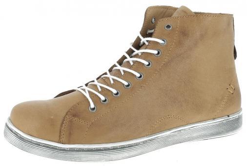 Andrea Conti Sneaker high brandy Leder 0341500100
