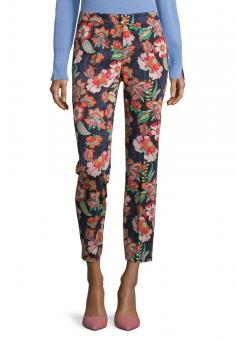 Betty Barclay Hose Regular Fit Floral 60511295