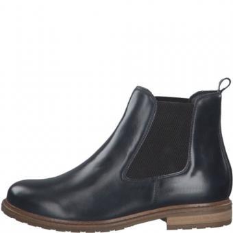 Tamaris Leder Chelsea Boots 1-1-25056-25 40   848 NAVY LEATHE  