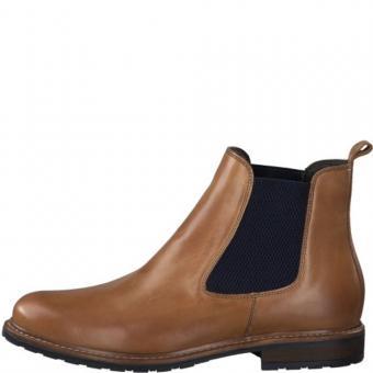 Tamaris Leder Chelsea Boots 1-1-25056-25 38 | 481 NUT LEA./BL |