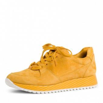 Tamaris Sneaker Schnürer gelb blau 1-1-23731-24