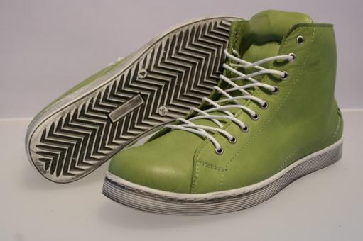 Andrea Conti Sneaker kiwi Leder 0341500262