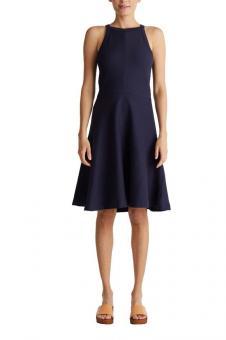 ESPRIT Kleid Jersey stretch blau 050EE1E344 S   E400 NAVY  