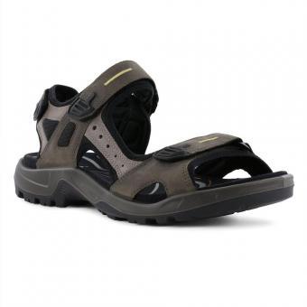 ECCO Yucatan Trekking Sandale Leder Tarmac 069564/56396