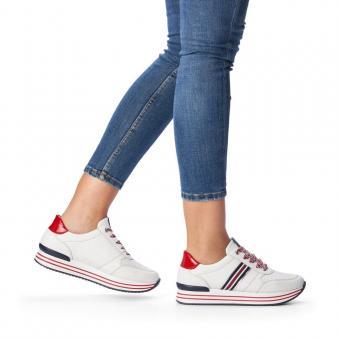 Remonte Sneaker Leder softfoam weiß D1305-80