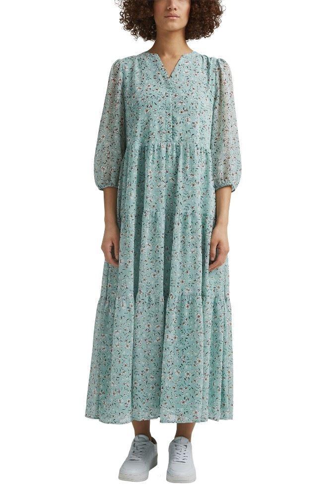 Schuhknopf Onlineshop Esprit Kleid Maxikleid 031ee1e304 38 E473 Turquoise Online Kaufen